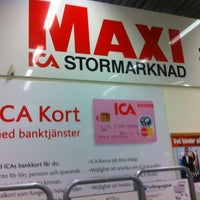 Photo taken at ICA Maxi Torslanda by Ola H. on 1/11/2013