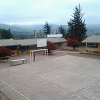 Photo taken at Escuela El Guindo by Guillermo Andres C. on 6/12/2013
