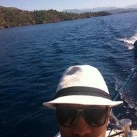 Photo taken at denizin ortası by Emre on 9/6/2013