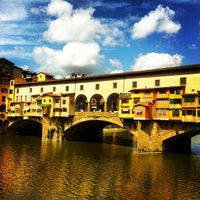 Photo taken at Ponte Vecchio by Vladimir K. on 6/22/2013