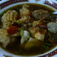 "Photo taken at Bakso & Bakwan Malang ""Cak Uban"" by Christina T. on 5/1/2013"