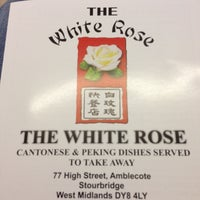 Photo taken at The White Rose Takeaway by Pete S. on 4/21/2013