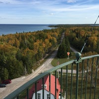 Photo taken at New Presque Isle Lighthouse by Joel H. on 10/11/2015