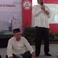 Photo taken at Semen Gresik - Plant Rembang by Hery Kurniawan on 6/16/2014