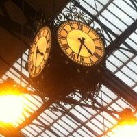 Photo taken at Brighton Railway Station (BTN) by Lauren R. on 2/22/2013