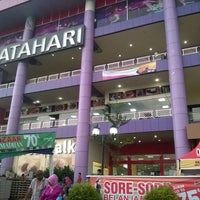 Photo taken at Matahari Departement Store SPR Plaza by Haddad S. on 5/20/2017