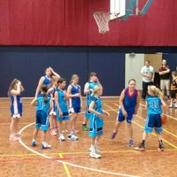 Photo taken at Rowville Community Centre Basketball Courts by Andrew on 11/14/2015