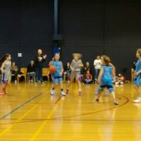 Photo taken at Rowville Community Centre Basketball Courts by Andrew on 7/24/2015