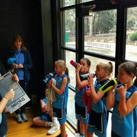 Photo taken at Rowville Community Centre Basketball Courts by Andrew on 6/4/2016