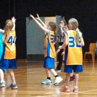Photo taken at Rowville Community Centre Basketball Courts by Andrew on 12/14/2013