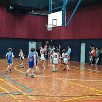 Photo taken at Rowville Community Centre Basketball Courts by Andrew on 11/16/2013