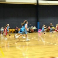 Photo taken at Rowville Community Centre Basketball Courts by Andrew on 5/21/2016