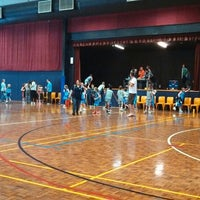 Photo taken at Rowville Community Centre Basketball Courts by Andrew on 12/7/2013