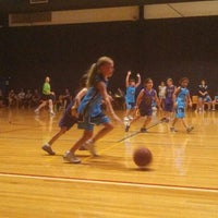 Photo taken at Rowville Community Centre Basketball Courts by Andrew on 2/14/2014