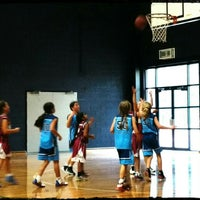Photo taken at Rowville Community Centre Basketball Courts by Andrew on 6/18/2016