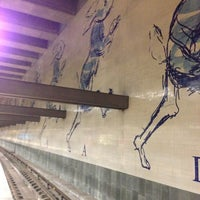 Photo taken at Metro Cais do Sodré [VD] by Edgar A. on 12/4/2012