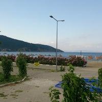 Photo taken at Ocaklar Sahili by Nilüfer Ö. on 6/26/2013
