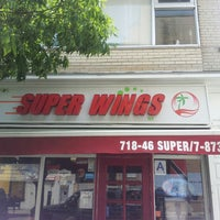 Photo taken at SUPER WINGS NY by Ellena R. on 7/9/2013