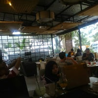 Photo taken at Green Cafe & Resto by Try SaMouTh R on 1/2/2015