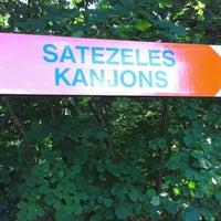 Photo taken at Satezeles kanjons by Dace A. on 7/28/2013
