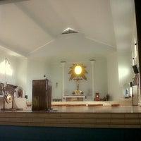 Photo taken at Aula Yohanes Salib-Pertapaan Karmel by Fanny J. on 2/16/2014