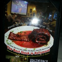 Photo taken at Argentango Steakhouse by Zach S. on 3/2/2013