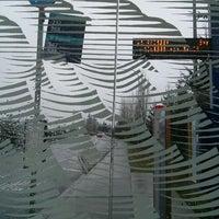 Photo taken at Sound Transit Bus Stop #71335 by Not H. on 3/3/2014