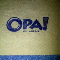 Photo taken at Opa! Souvlaki Of Greece by ilene jOyce (. on 11/12/2012
