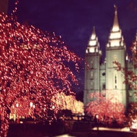 Photo taken at Temple Square by Lisa T. on 11/26/2012
