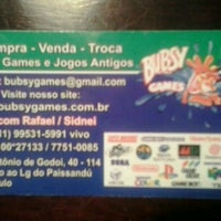 Photo taken at Bubsy Games by Danilo P. on 7/27/2013