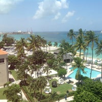 Photo taken at British Colonial Hilton by Ally M. on 8/17/2013