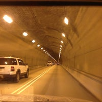 Photo taken at Pittsburgh Tunnel by jody s. on 3/19/2013