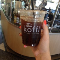 Photo taken at Koffi by Nicole L. on 10/2/2014