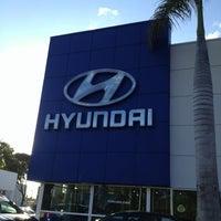 Photo taken at Rick Case Hyundai by Joshua B. on 1/23/2013