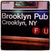 Photo taken at Brooklyn Pub by Joseph G. on 9/14/2013