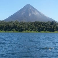 Photo taken at Volcán Arenal by Eduardo S. on 1/13/2013