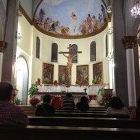 Photo taken at Iglesia Santa Eduvigis by Sandra P. on 1/13/2013