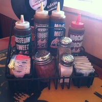 Photo taken at Red Hot & Blue  -  Barbecue, Burgers & Blues by Rob on 9/22/2012