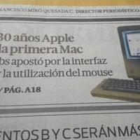 Photo taken at Grupo El Comercio - Plataforma Digital by Ronald Q. on 1/24/2014