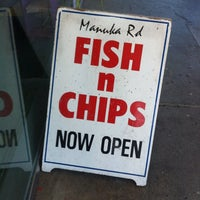 Photo taken at Manuka Fish & Chips by Brad B. on 10/15/2014
