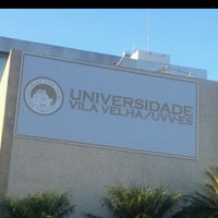 Photo taken at UVV - Universidade Vila Velha by Tati C. on 4/16/2013