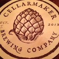 Das Foto wurde bei Cellarmaker Brewing Company von Tim G. am 10/25/2013 aufgenommen