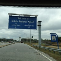 Photo taken at Mobile Regional Airport by Tim G. on 12/29/2012