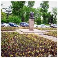 Photo taken at Памятник Ю.А. Гагарину by Фёдор on 6/12/2013