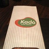 Photo taken at Kadô Cozinha Oriental by Jorge C. on 12/19/2012