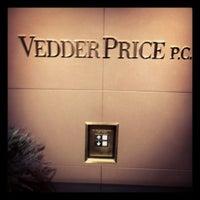 Photo taken at Vedder Price P.C. by Jeremy C W. on 3/12/2013