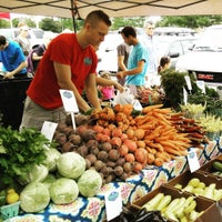 Photo taken at Meridian Township Farmer's Market by hartanto on 7/25/2015