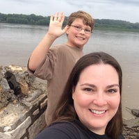 Photo taken at Mississippi River by Melissa D. on 7/20/2015