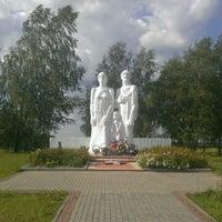 "Photo taken at мемориальный комплекс ""Вишенки"" by Evgenii P. on 8/23/2014"