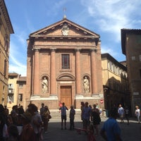 Photo taken at Piazza Tolomei by Chayan K. on 8/17/2016